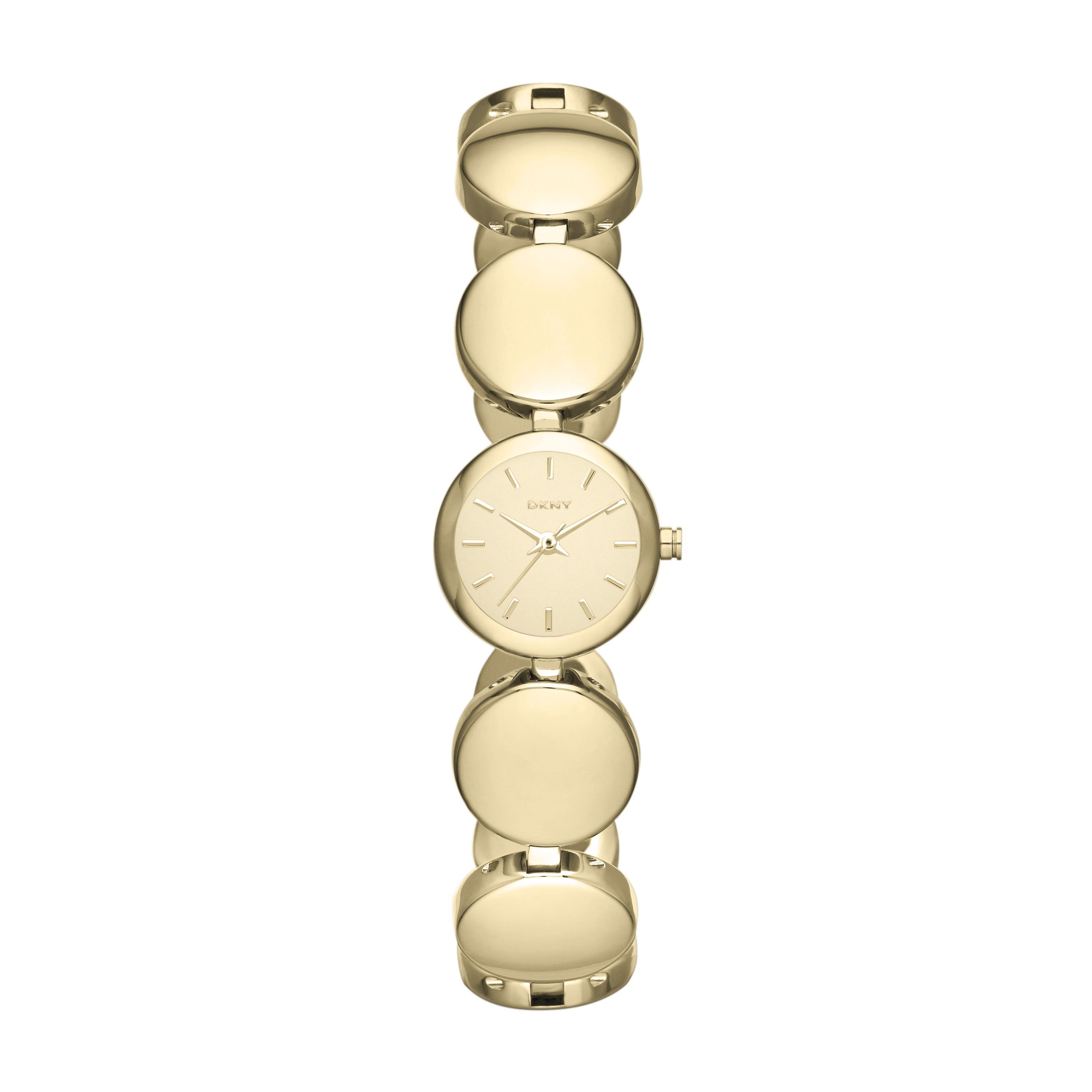 NY8867 Essential Gold Ladies Bracelet Watch