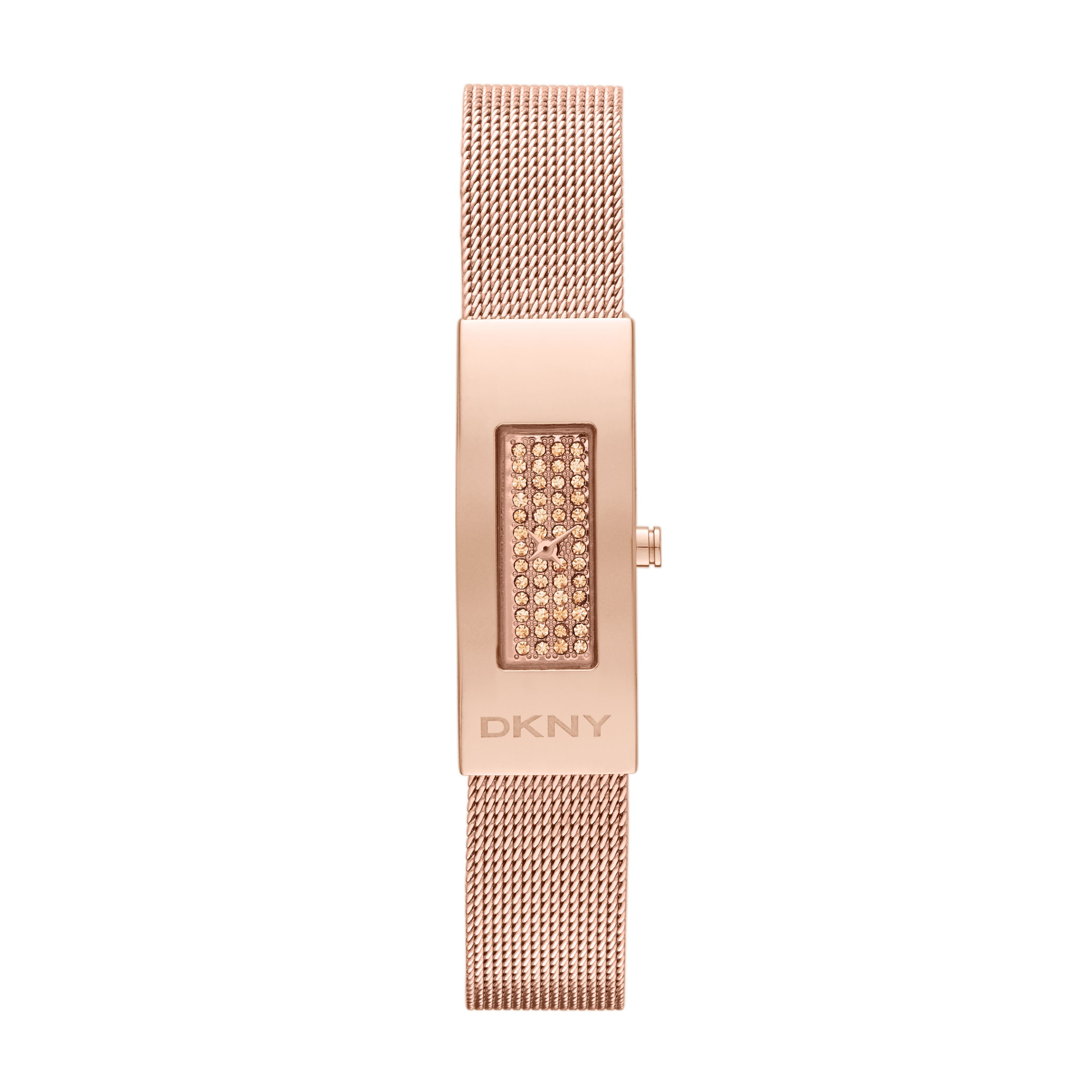 NY2111 Glitz Rose Gold Ladies Bracelet Watch