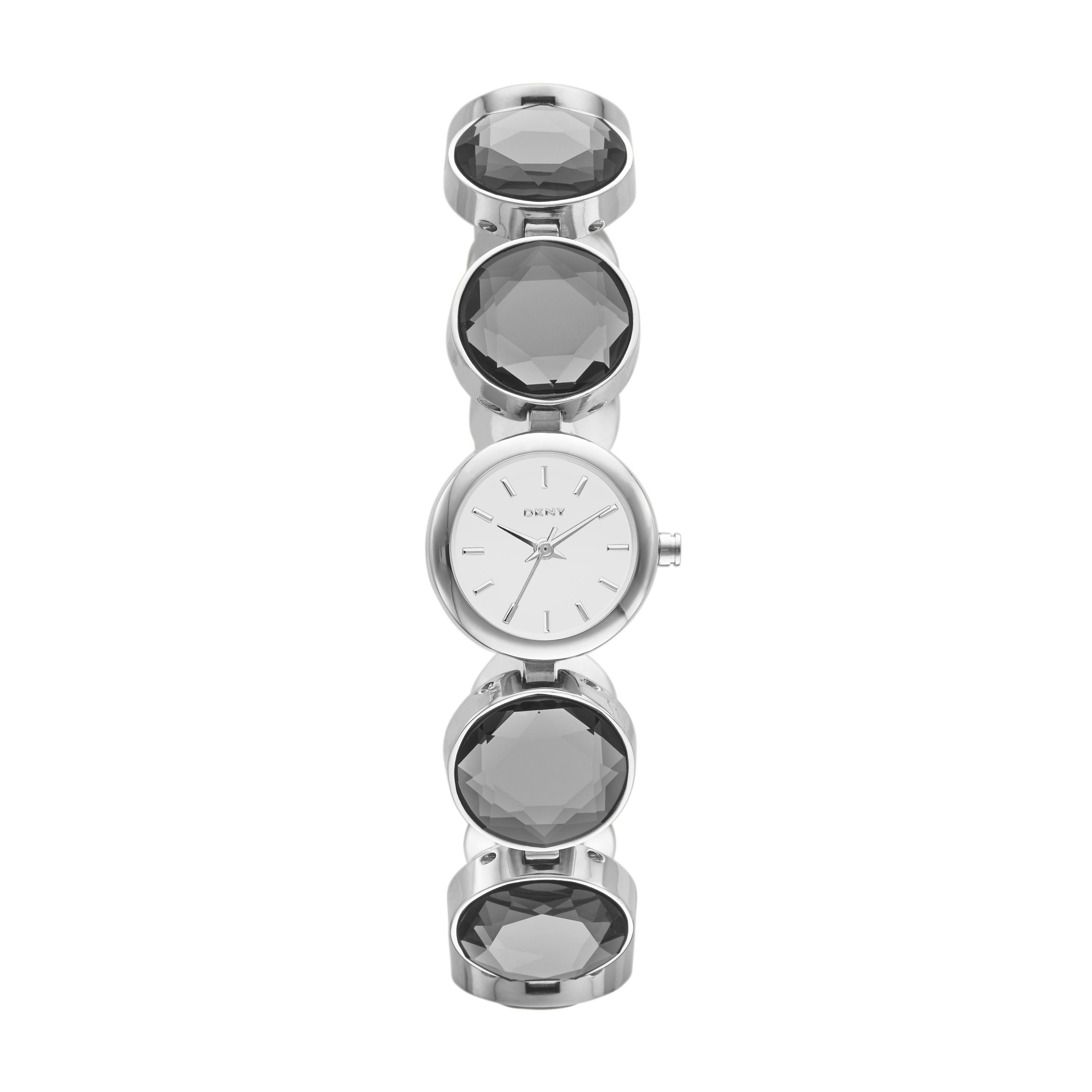 NY2123 GLITZ silver stainless steel ladies watch