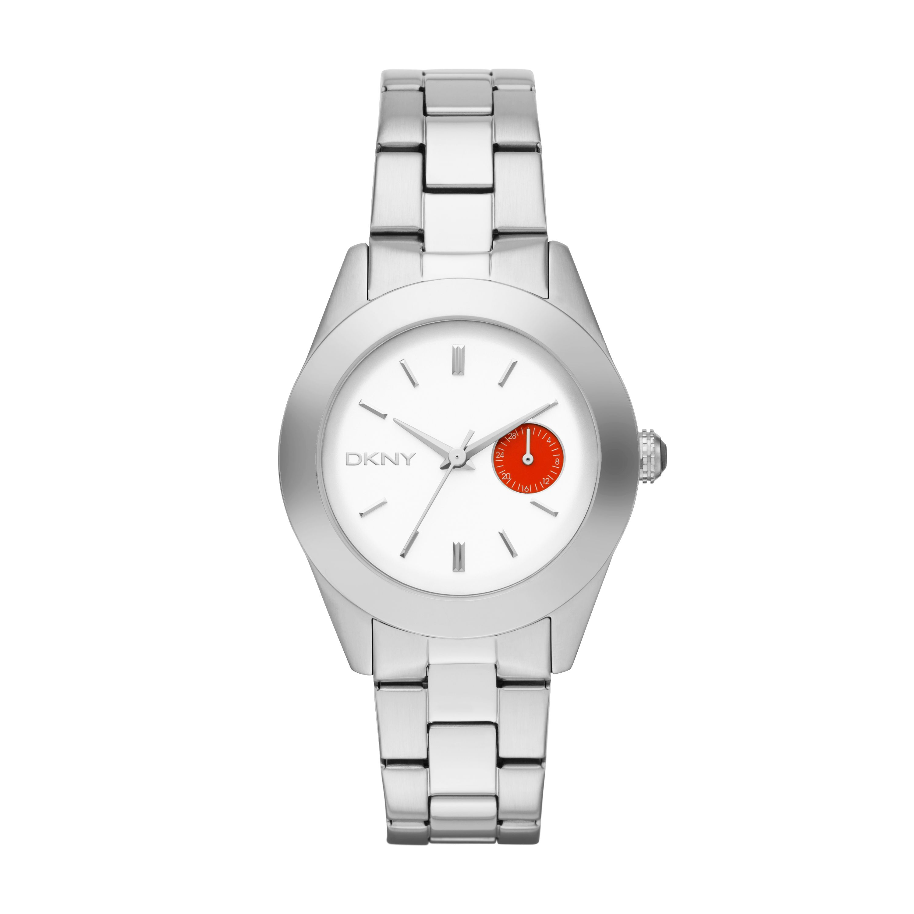 NY2131 Chic Silver Ladies Bracelet Watch