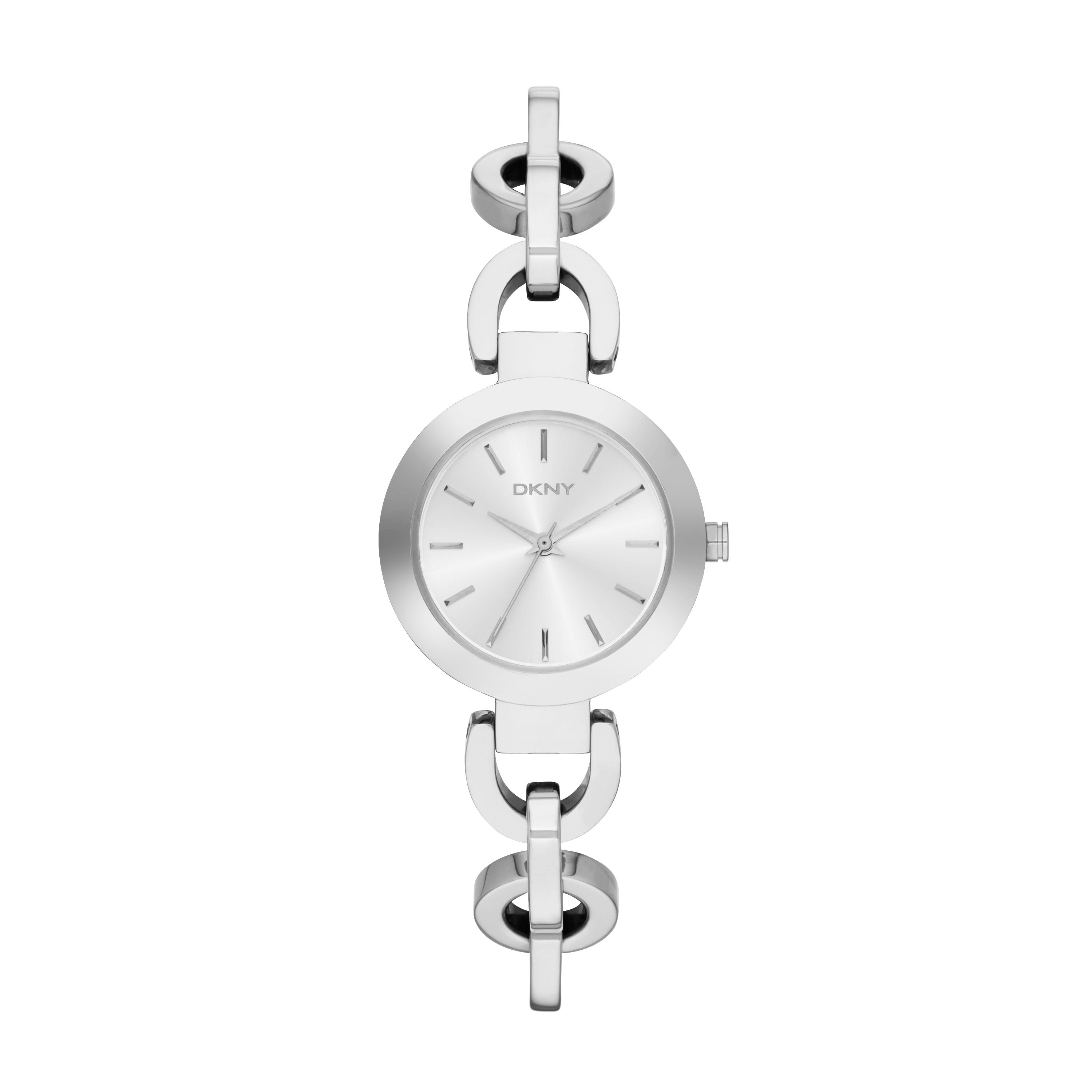 NY2133 Chic Silver Ladies Bracelet Watch