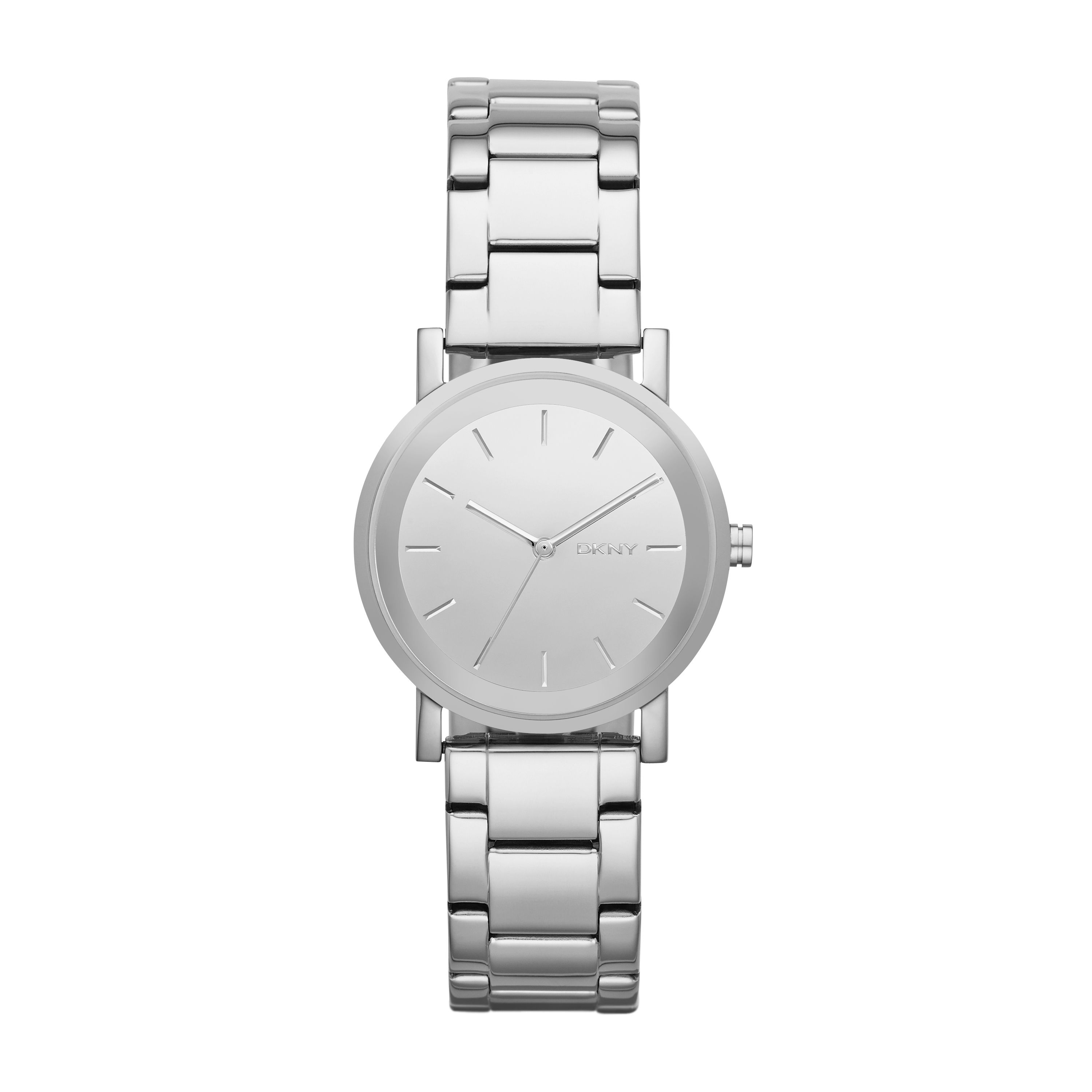 NY2177 Modern ladies silver bracelet watch