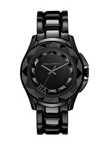 Karl Lagerfeld KL1002 Karl 7 Black Ladies Bracelet Watch