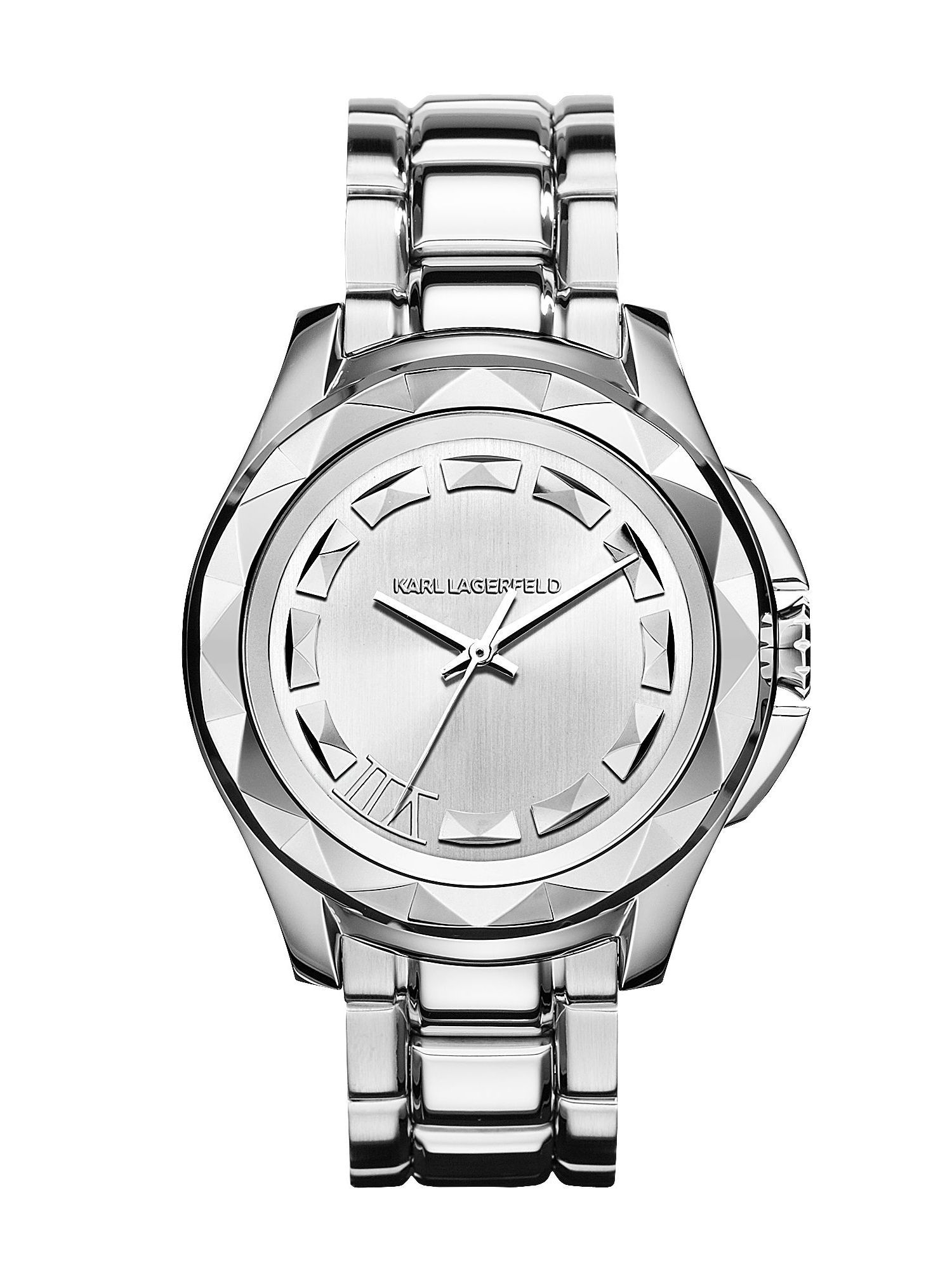 KL1004 Karl 7 Silver Mens Bracelet Watch