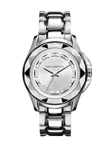 Karl Lagerfeld KL1005 Karl 7 Silver Ladies Bracelet Watch