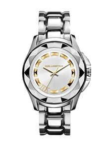 Karl Lagerfeld KL1008 Karl 7 Silver Ladies Bracelet Watch