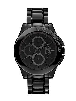 KL1401 Energy Black Mens Bracelet Watch