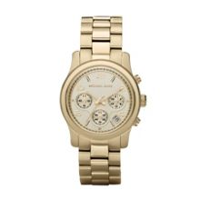 Michael Kors MK5055 Runway Gold Ladies Bracelet Watch