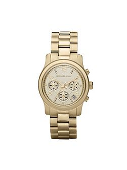 MK5055 Runway Gold Ladies Bracelet Watch