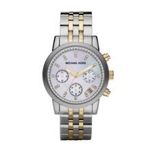 MK5057 Ritz Silver and Gold Ladies Watch