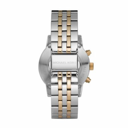 Michael Kors MK5057 Ritz Silver and Gold Ladies Watch