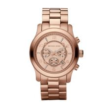 Michael Kors MK8096 Runway Rose Gold Oversized Bracelet Watch