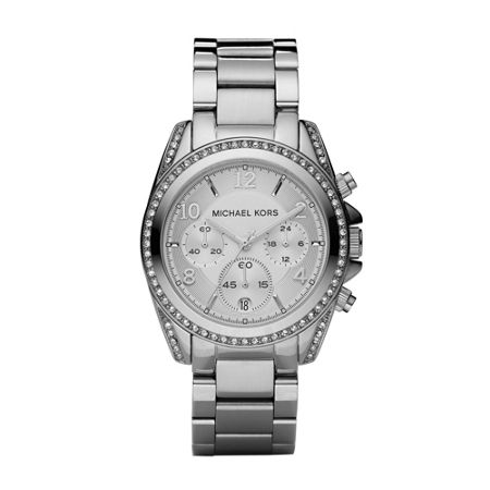 Michael Kors MK5165 Blair Silver Ladies Bracelet Watch