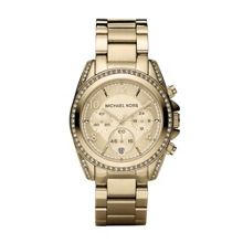 MK5166 Blair Gold Ladies Bracelet Watch
