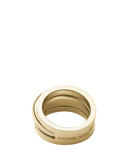 Michael Kors Brilliance Crystal Ring - Ring Size O - S/M