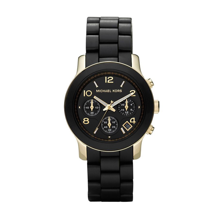 MK5191 Runway Gold Black Ladies Bracelet Watch