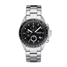 Fossil CH2600 Decker Silver Mens Sports Watch