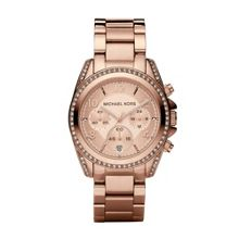 MK5263 Blair Rose Gold Ladies Bracelet Watch