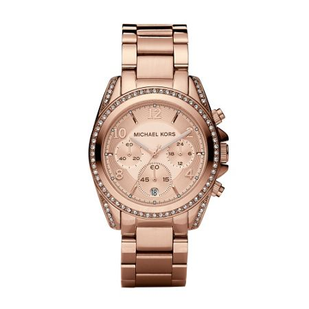 Michael Kors MK5263 Blair Rose Gold Ladies Bracelet Watch