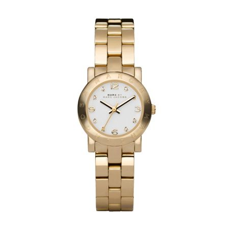 Marc Jacobs MBM3057 Amy Gold Mini Ladies Bracelet Watch