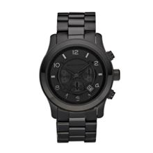 Michael Kors MK8157 Runway Black Mens Bracelet Watch
