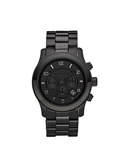 MK8157 Runway Black Mens Bracelet Watch