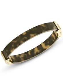 Heritage Gold and Tort Acetate Bangle