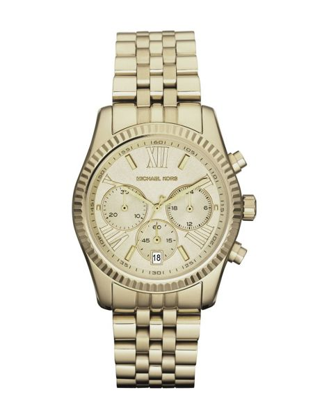 Michael Kors MK5556 Lexington Gold Ladies Bracelet Watch