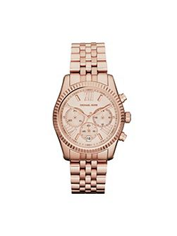 MK5569 Lexington Rose Gold Ladies Watch