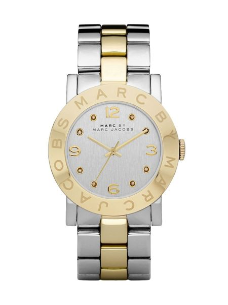 Marc Jacobs MBM3139 Amy Silver and Gold Ladies Watch
