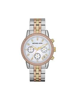 MK5650 Ritz Tri Tone Ladies Bracelet Watch