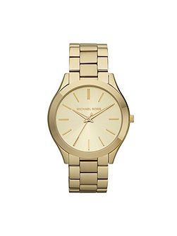 MK3179 Runway Gold Ladies Bracelet Watch