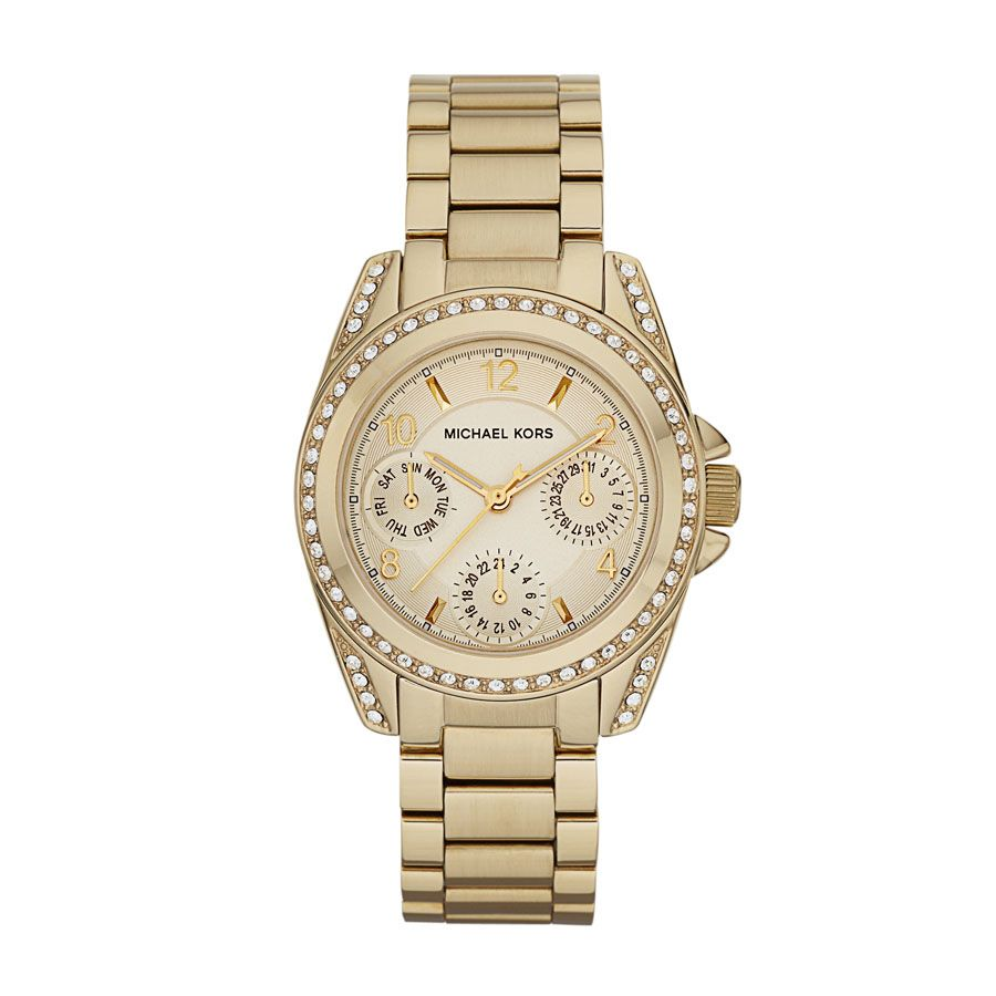 MK5639 gold stainless steel ladies watch