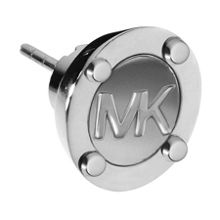Michael Kors Heritage Silver Astor Stud Earrings