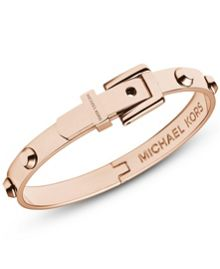 Heritage Rose Gold Astor Buckle Bangle