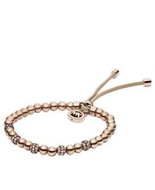 Brilliance Rose Gold Stretch Bracelet