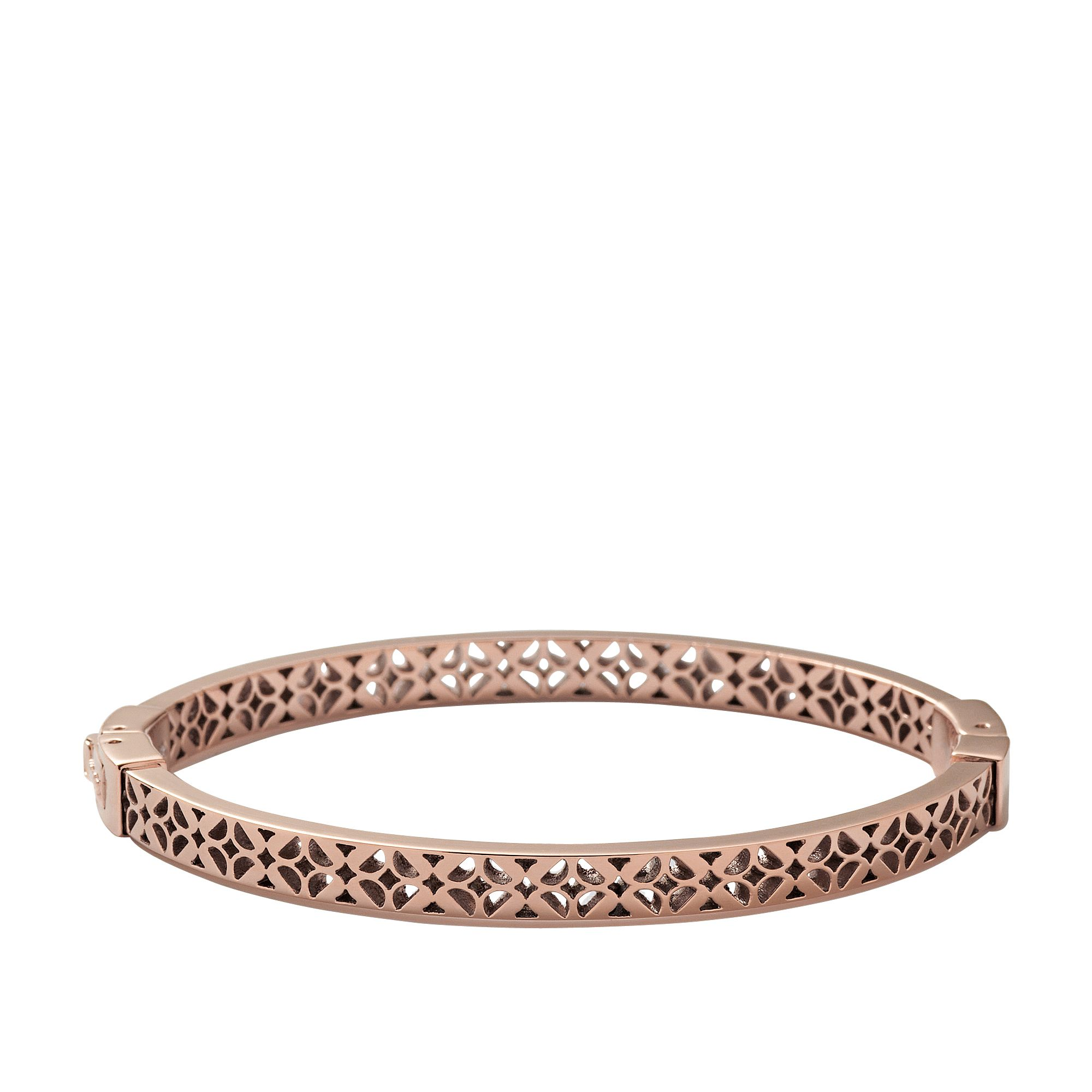 Jf00099791 Ladies rose gold iconic Bangle bracele