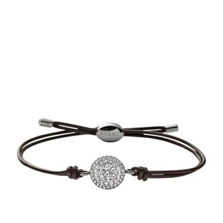 Fossil Jf00117040 Ladies iconic leather bracelet