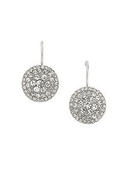 Jf00134040 Ladies silver iconic glitz earrings