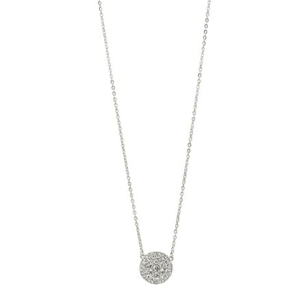 Fossil Jf00138040 Ladies silver iconic glitz necklace