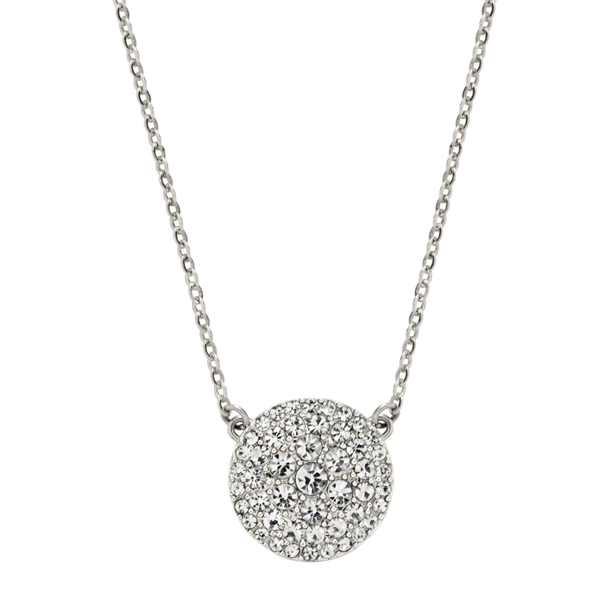 Jf00138040 Ladies silver iconic glitz necklace