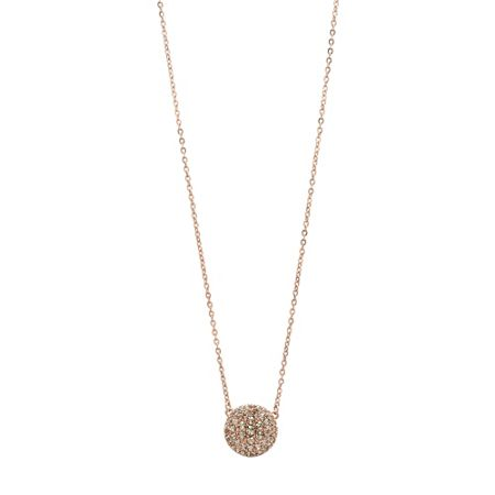 Fossil Jf00139791 Ladies rose iconic glitz necklace
