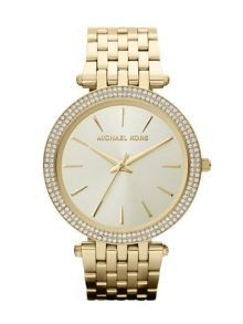 MK3191 Darci Gold Ladies Bracelet Watch