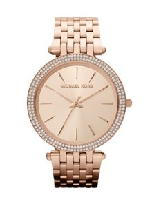 MK3192 Darci Rose Gold Ladies Bracelet Watch