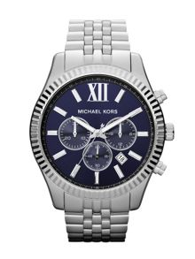 Michael Kors MK8280 Lexington Silver Mens Bracelet Watch