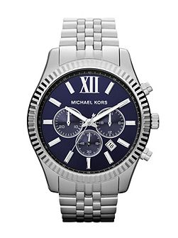 MK8280 Lexington Silver Mens Bracelet Watch