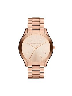 Michael Kors MK3197 Runway Rose Gold Ladies Bracelet