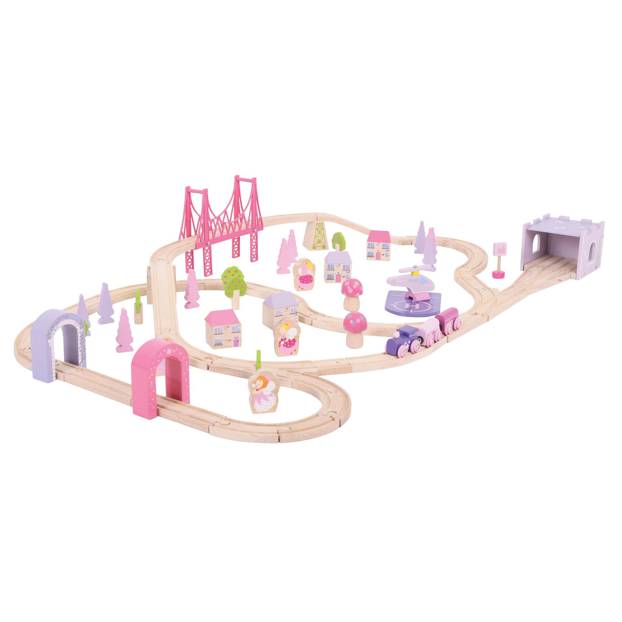 Bigjigs Rail Fairy Town Train Set