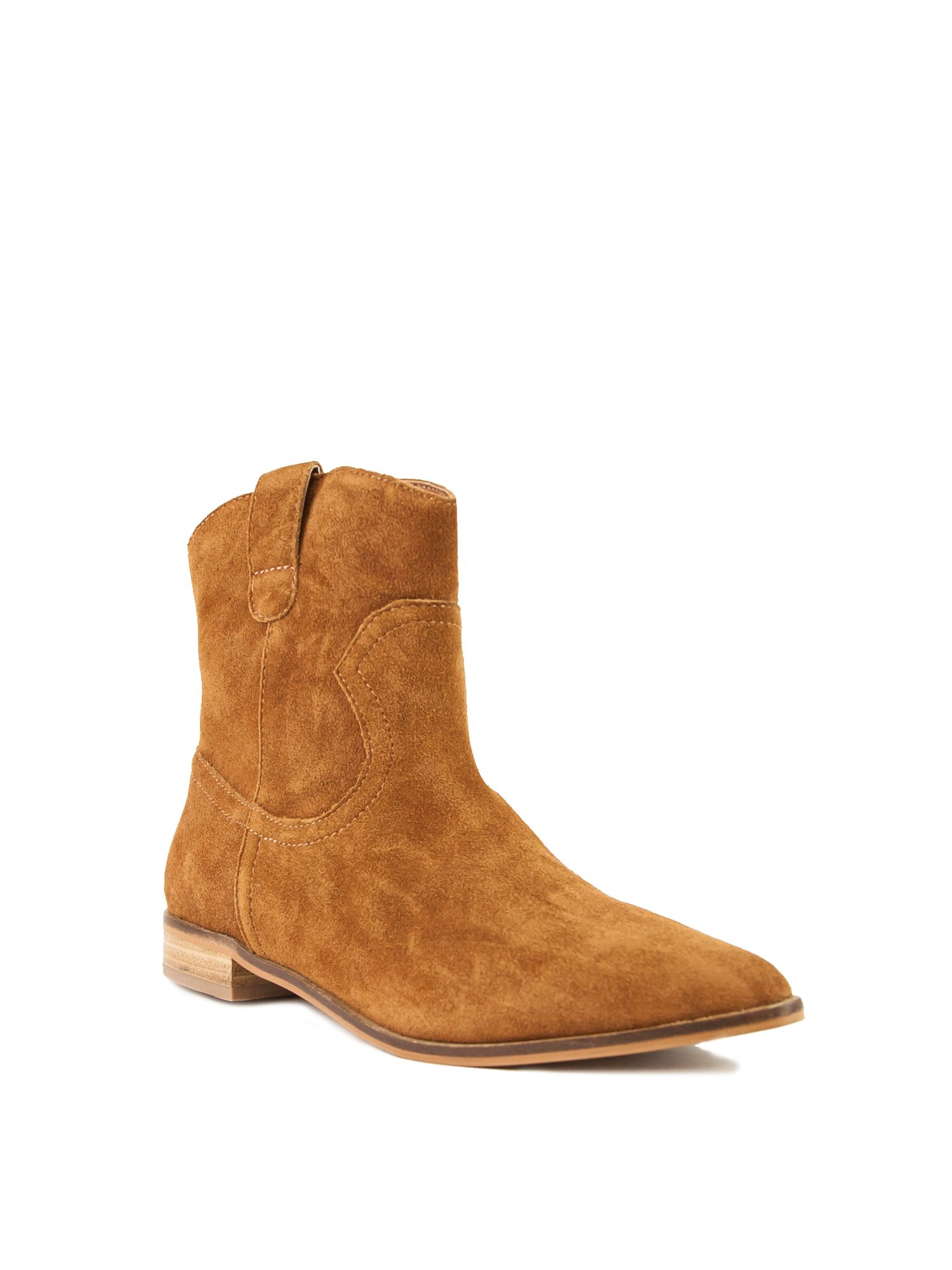 Shellys London Shellys London Bowroad casual western ankle boots, Brown