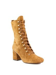 Shellys London Alperton lace up mid calf boots